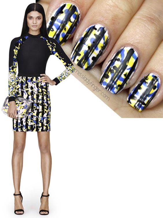 Peter Pilotto for Target -SP14 #nail #nails #nailart