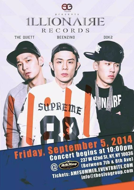 Beenzino, Dok2, and The Quiett give a shout out to fans for their upcoming NYC concert this Friday | allkpop