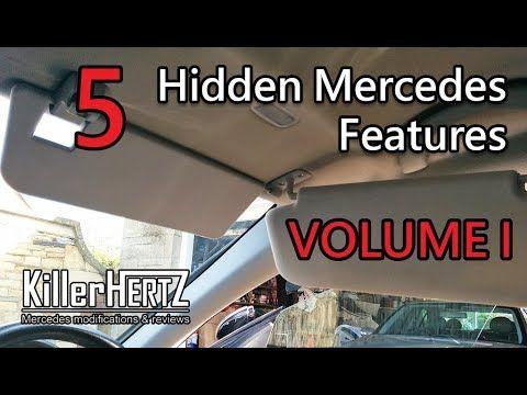 5 Hidden Mercedes Functions Tricks Features Vol 1 Youtube Mercedes Feature Function