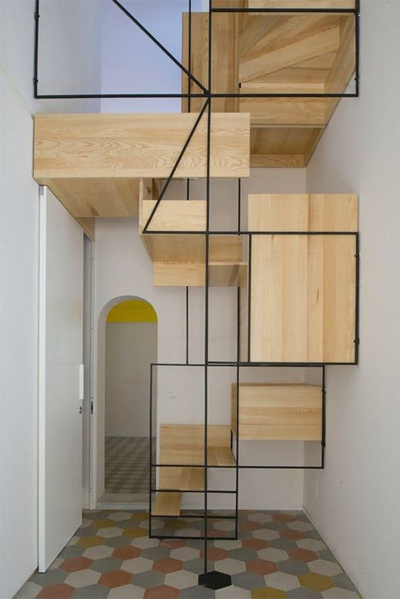 Ideas para escaleras originales