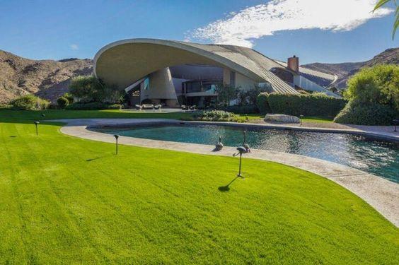 Casa de Bob Hope, Palm Spring, California, E. Unidos