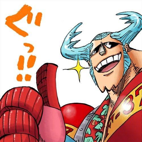 Franky Stamp Deco One Piece One Piece Anime E Anime Echii