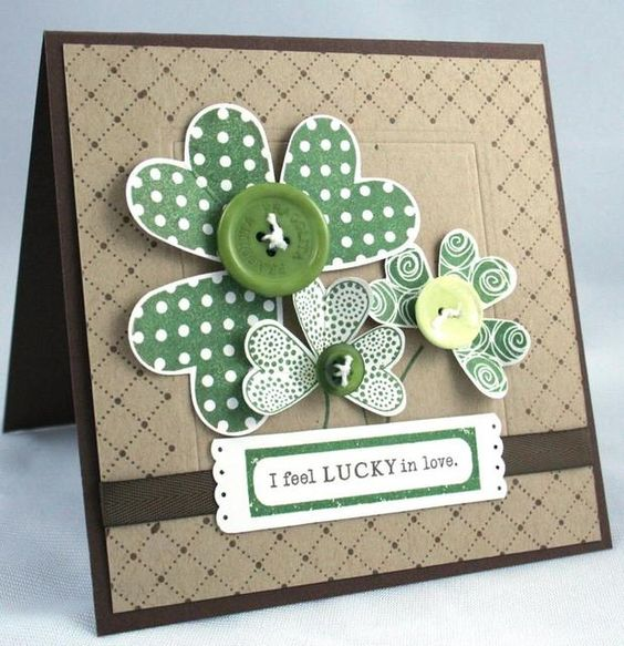 I Feel Lucky In Love...By:Erin Lincoln..papertreyink