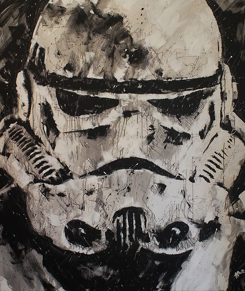 Boba Fett and Stormtrooper Created by Eduardo... | Ten percent of nothin'