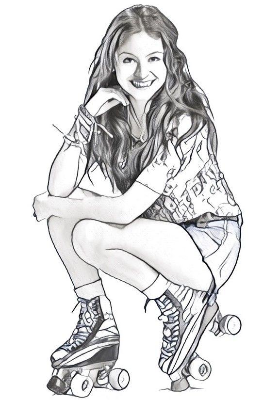 Dibujo Para Colorear Soy Luna Con Imagenes Son Luna Dibujos