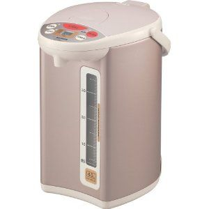 """Zojirushi Electric Water Boiler and Warmer. So convenient for the frequent tea drinker. Also, it plays """"Minuet in G Major"""" when the water is boiled."""