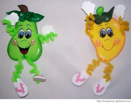 Resultado de imagen para imagenes de frutas en foami  FRUTAS Y