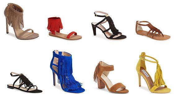 Trend: Fringe Sandals