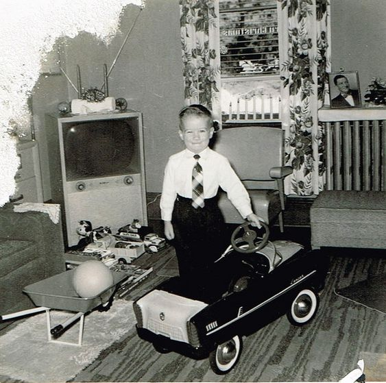 Christmas Morning From Decades Past