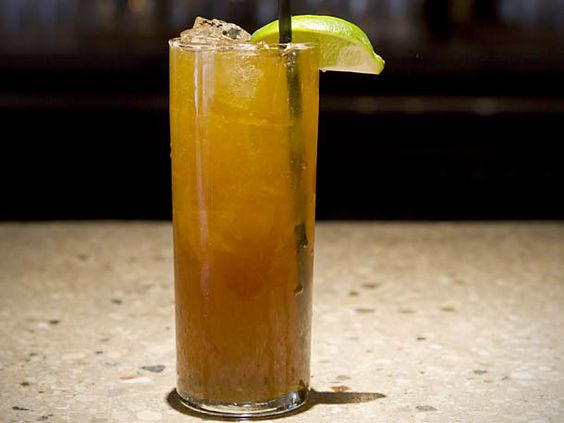 all tomorrow's parties: fernet branca, ginger beer, lime. ada