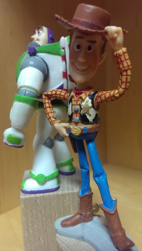 Toy Story characters to use with small world enhancements