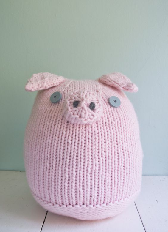 Whit\'s Knits: Big Pink Pig | Cool crafty things | Pinterest | Purl ...