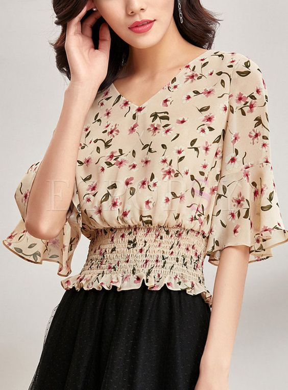 Magical Colorful Blouses