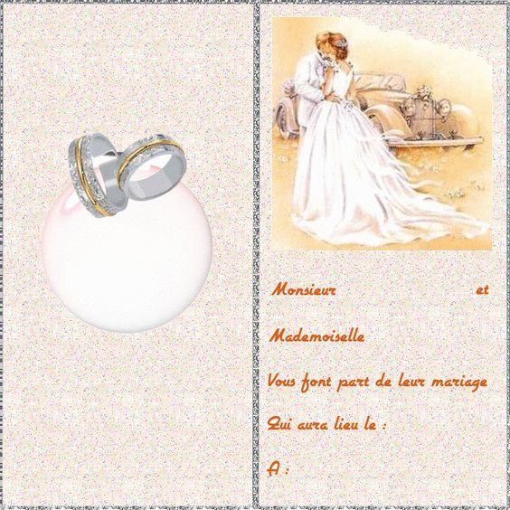 CARTE-INVITATION-MARIAGE.png (650×650) | carte d'invitation | Pinterest