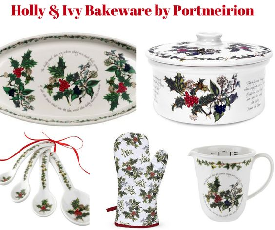 Holly and Ivy Holiday Bakeware by Portmeirion