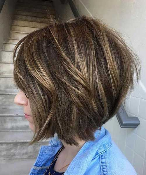 Latest Short Bob Haircut Women Hairstyle For Short Hair Short Hair With Layers Bob Hairstyles For Thick Hair Styles