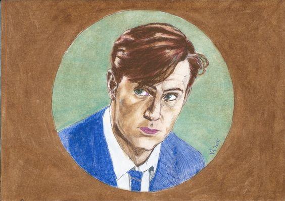 "Jack Davenport as Peter Smith Kingsley by Vanessafari - #JackDavenport in ""Mr Ripley"", by #Vanessafari. More drawings at vanessafari.com"