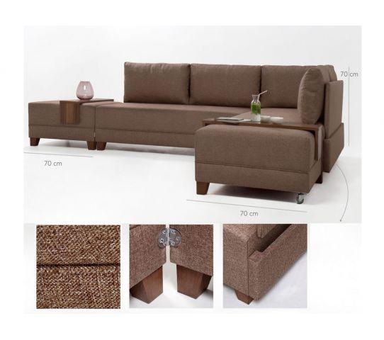 كنبة زاوية مع أريكة سرير Couch With Relax Sofa Sectional Couch Couch Home Decor