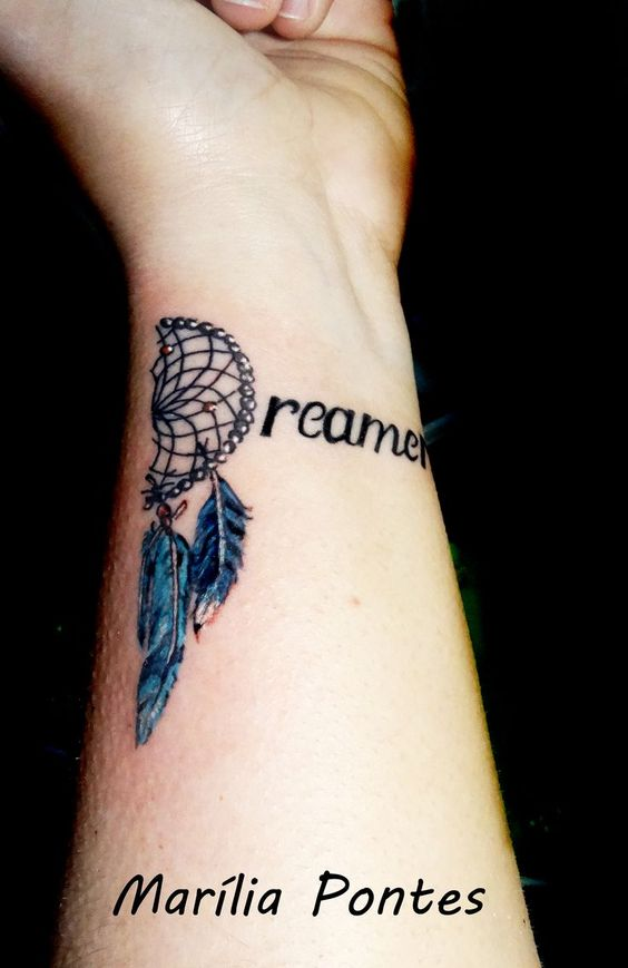 Dreamcatcher tattoos dream catcher tattoo thoughts and for Thoughts about tattoos