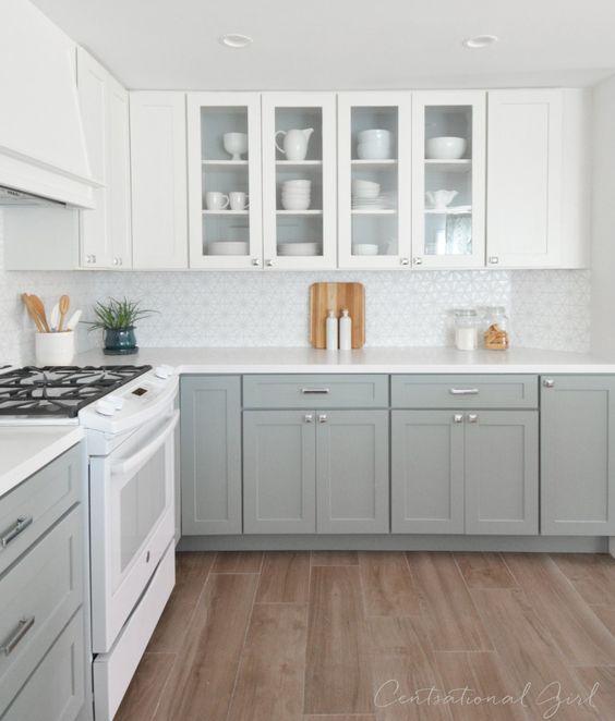 40 Amazing DIY Kitchen Renovations | Big Kitchen, Big Project And Arrow Keys