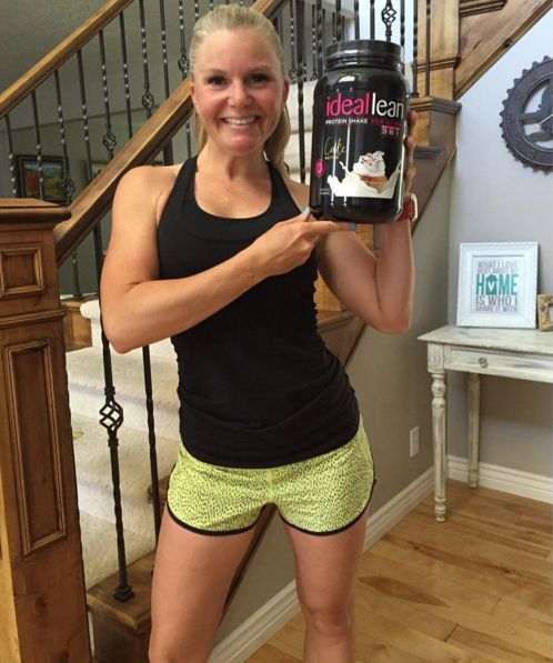 "Alright ladies, as SOON as you get that new protein in the mail, let's see those Cake Batter selfies! Thanks for sharing yours, @tamarynnleigh! https://idealfit.com/product/ideallean-protein-cake-batter/  ""@idealfit just launched their newest flavor of protein: Cake Batter, and I love it! Being able to have a treat while working towards your fitness goals is a win-win in my book """