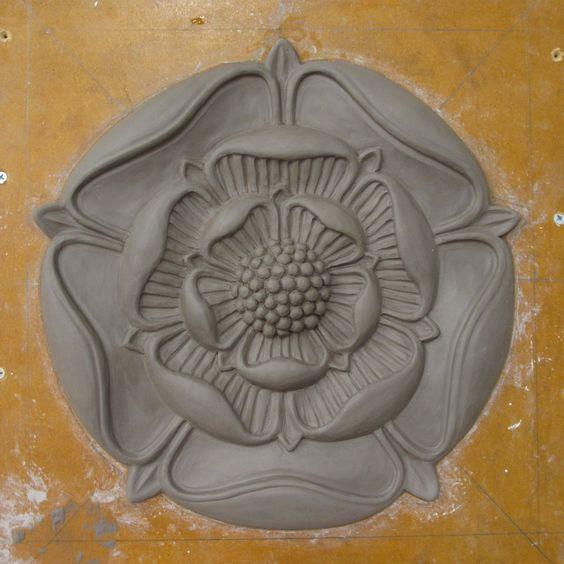 tudor rose modelled in clay simplicity is key pinterest tudor tudor rose and clay. Black Bedroom Furniture Sets. Home Design Ideas