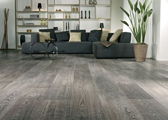 Once You Ve Got The Help Of Laminate Floor Store Near New Jersey Your Laminate Flooring In A Dining Room Bedroom Office R House Flooring Home Grey Flooring