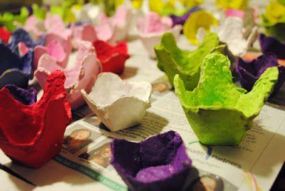 Pabla en casa: Idées para usar los Cartones de huevo !!!