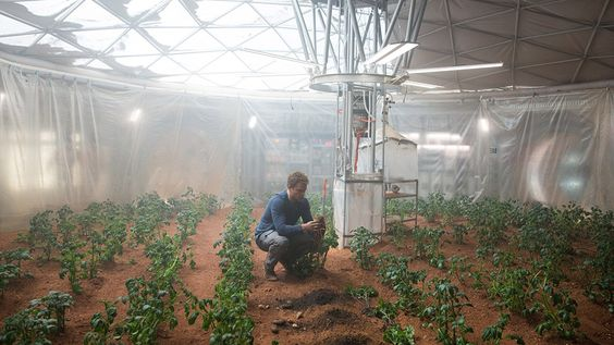 NASA technologies used in the movie 'The Martian':