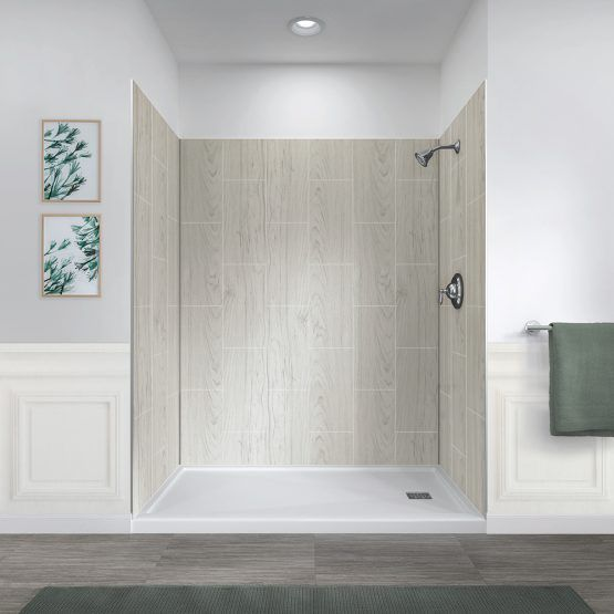 Jetcoat 60 X 32 Five Panel Shower Wall System Shower Wall
