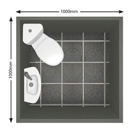 Shower Solutions For Small Bathroom 0m X Cloakroom
