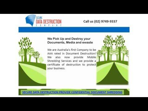 The Secure Document Destruction Company provide a full guarantee - best of shredding certificate of destruction sample
