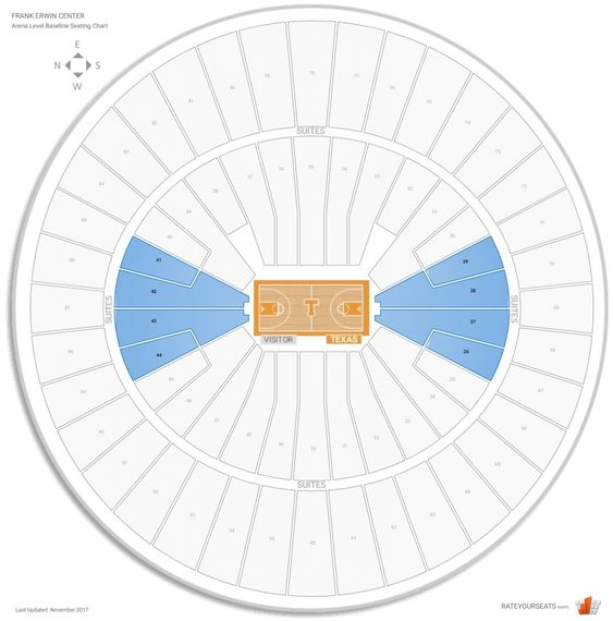 Brilliant And Also Beautiful Frank Erwin Center Seating Charts Seating Blue Seating