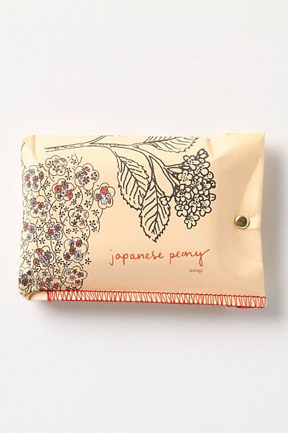 Printed & Folded Soap - Anthropologie.com