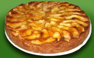 Pastel de manzana by www.vinosyrecetas.com