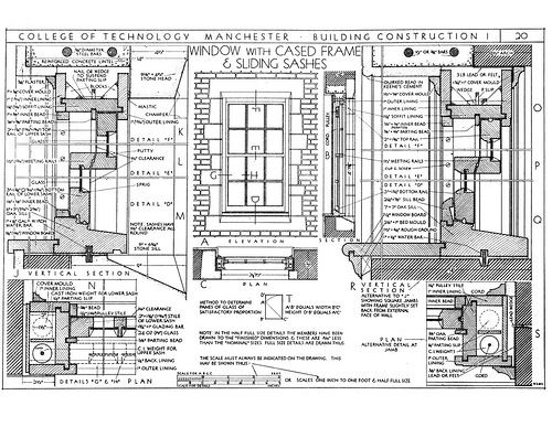 Mckay S Building Construction Figures 60 61 Building Construction Building Georgian Architecture