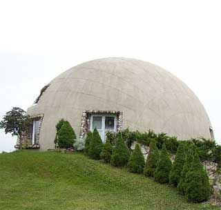 Monolithic Dome Homes - One Piece EcoShells: