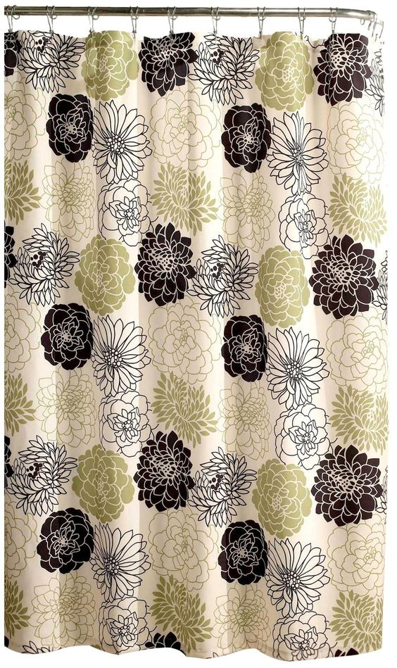 Gorgeous Shower Curtain, Kiwi - casa.com