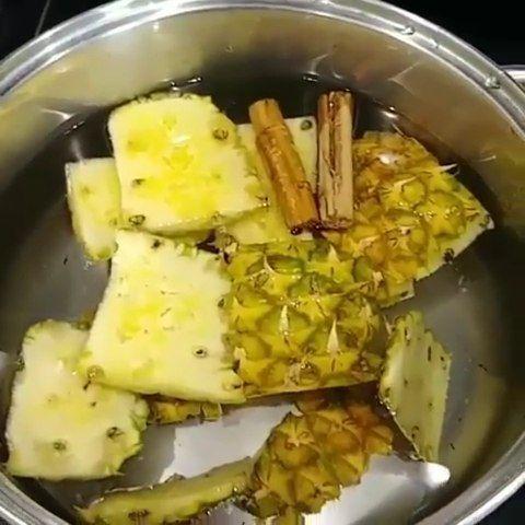 dieta de la pina con canela y jengibre