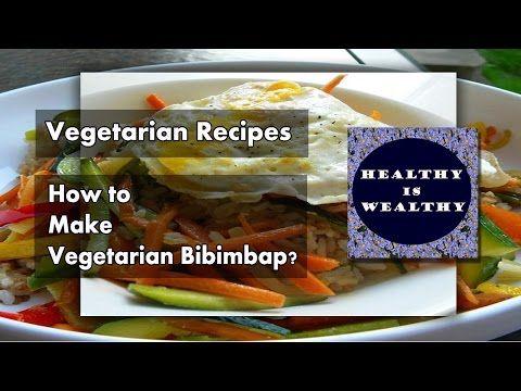 Vegetarian Recipes | How to make Vegetarian Bibimbap - http://2lazy4cook.com/vegetarian-recipes-how-to-make-vegetarian-bibimbap/