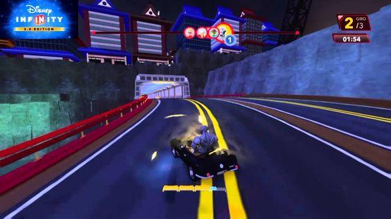 Disney Infinity 3.0 Speedway Circuito di San Fransokyo 250cv