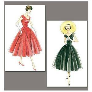 Patron - Robe année 1957 - 34 au 40