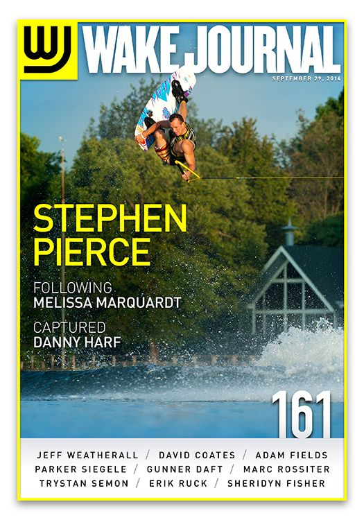 September 29th, 2014 - Wake Journal 161 with Stephen Pierce on the cover! Download the Wake Journal App, subscribe and get all 40 issues for just $1.99! http://www.wkjr.nl/app