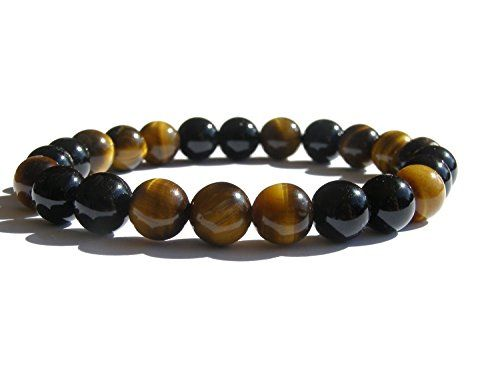 "Available now on Amazon.com  #ZENstore Tiger Eye and Black Tourmaline Bracelet with Certified Gemstones, Size: 7""(M), Gift Box ZENstore http://www.amazon.com/dp/B00MW0O1C4/ref=cm_sw_r_pi_dp_Pz36ub1R2TYQV"