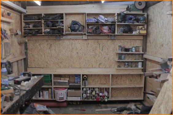 Kfz werkstatteinrichtung selber bauen  Werkstatt-Regal bauen | Philipp Konter !!! | Pinterest | Regale ...