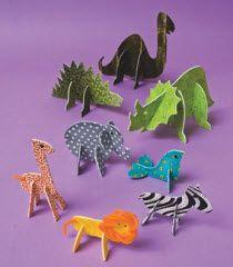 animali di stoffa