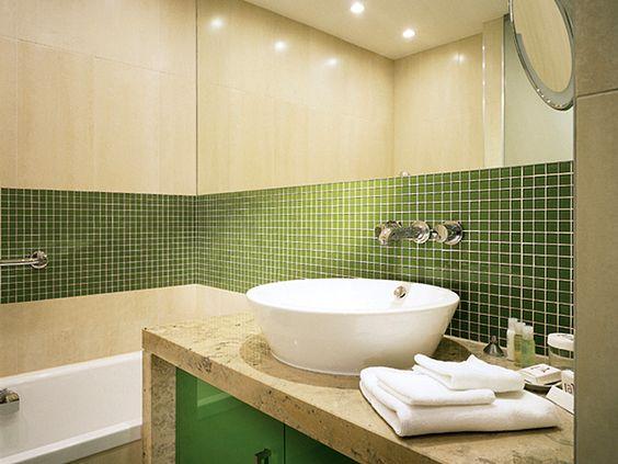 Modernes Badezimmer Retro Stil