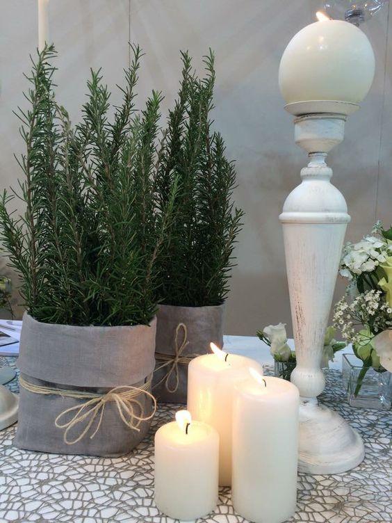 Semplici erbe aromatiche e candele by ️️PROFUMO DI FIORI