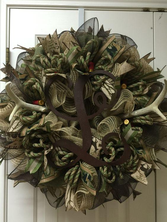 Hunters wreath by Twentycoats Wreath Creations
