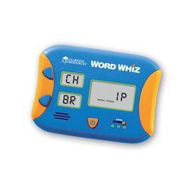 Word Whiz Electronic Flash Card